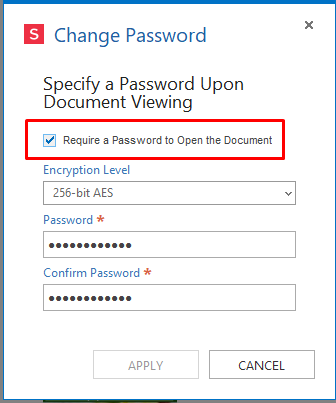 add password to pdf document