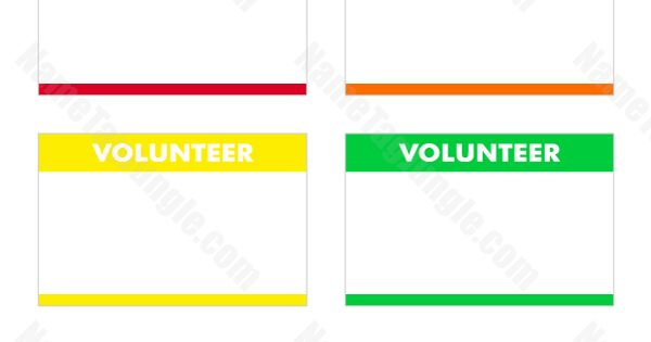 document of list of volunteer places template