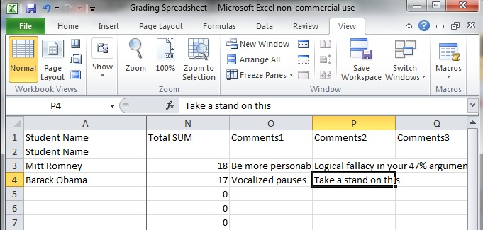 populate a word document from an excel spreadsheet