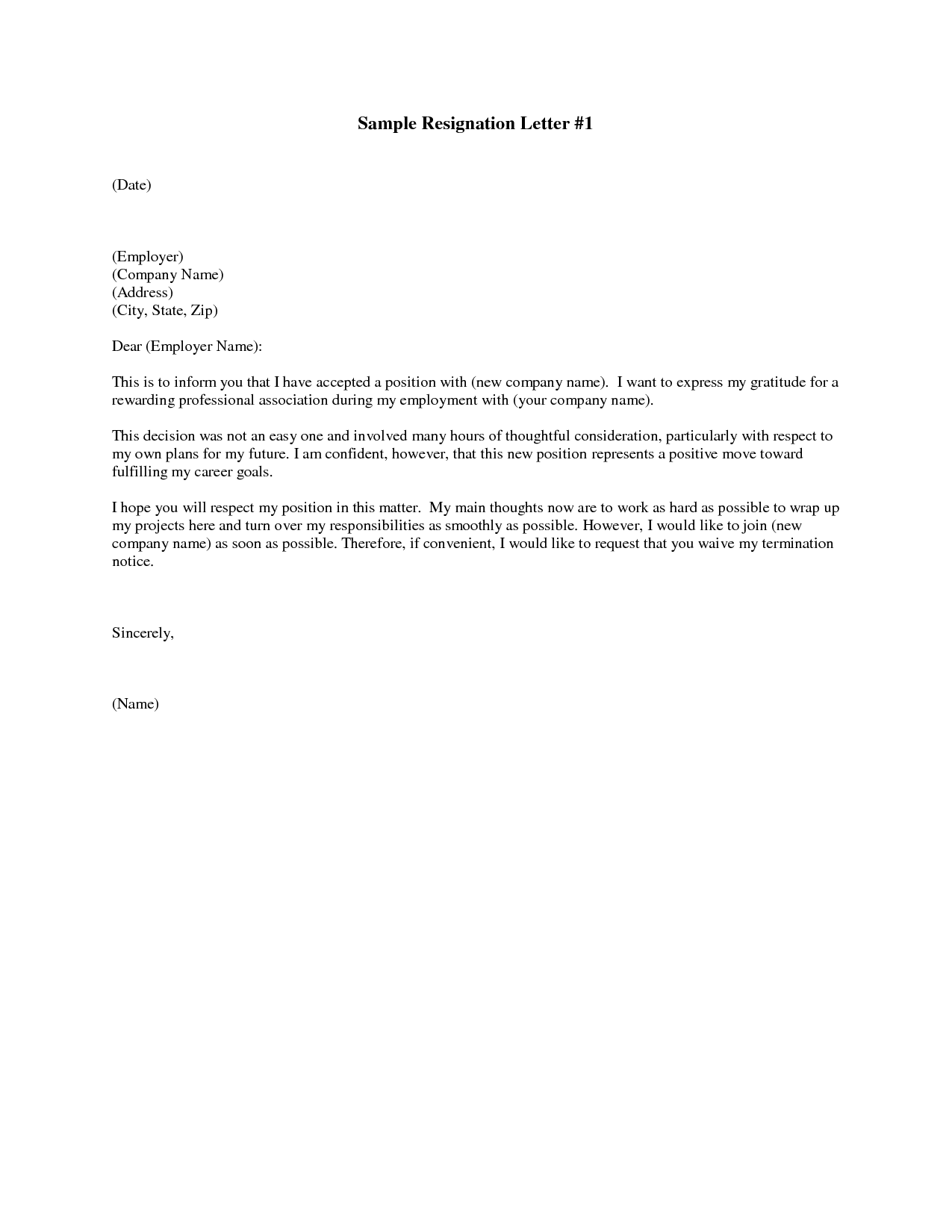 cover letter sample document submission