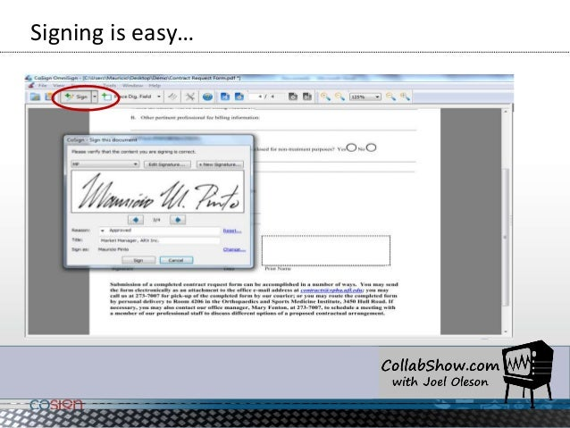 why couldnt i sign a document in adobe reader