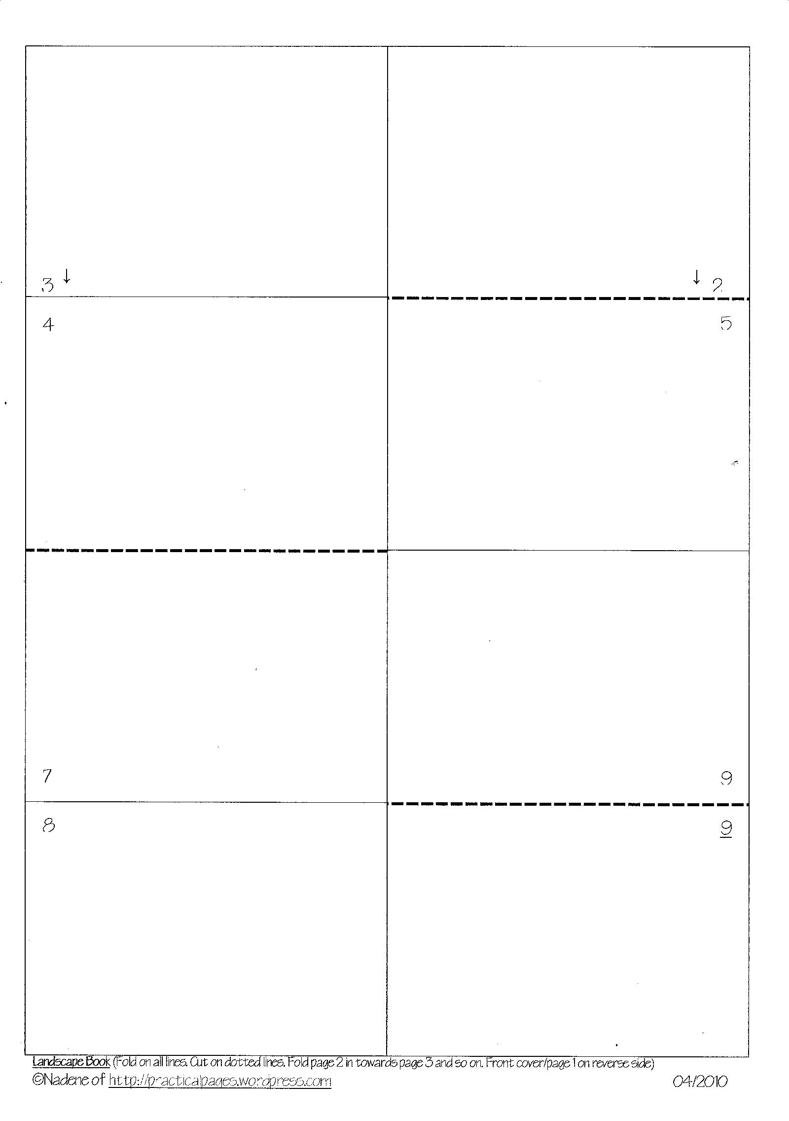 one landscape page in a word document