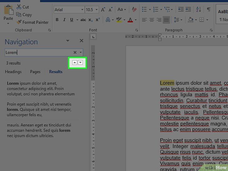 how to find most word used in microsoft word document