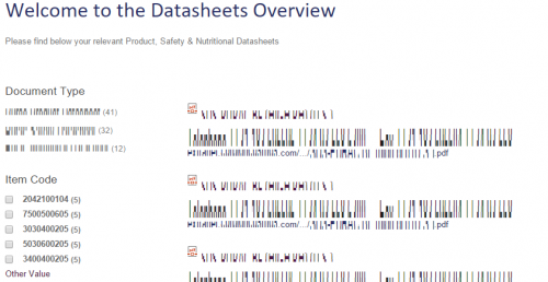 sharepoint make document library into data sheet