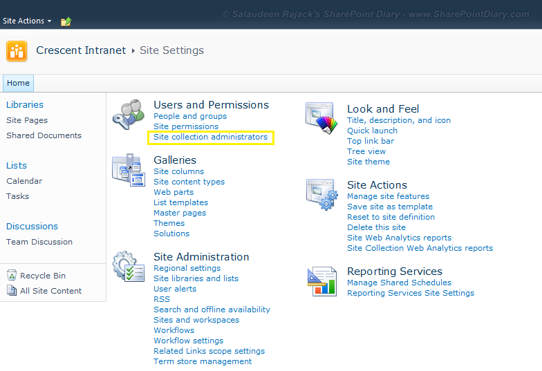 change url of document library in sharepoint 2010