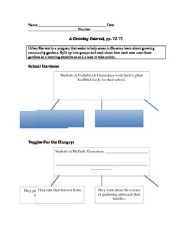 divide a word document into 4 sections