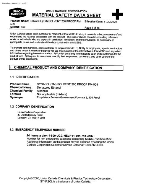 msds chemical document management system
