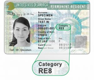 us permanent resident card document number
