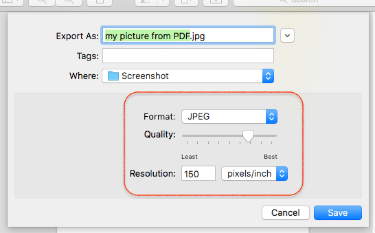 how do i change a document from pdf to jpg