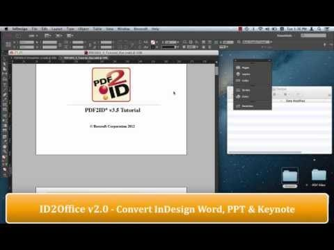 convert word document to indesign file