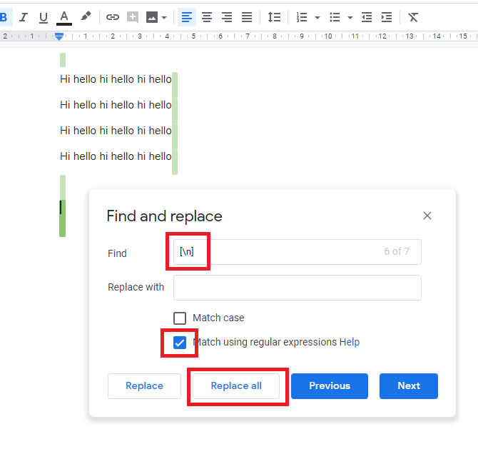 how do i paste a document in google docs