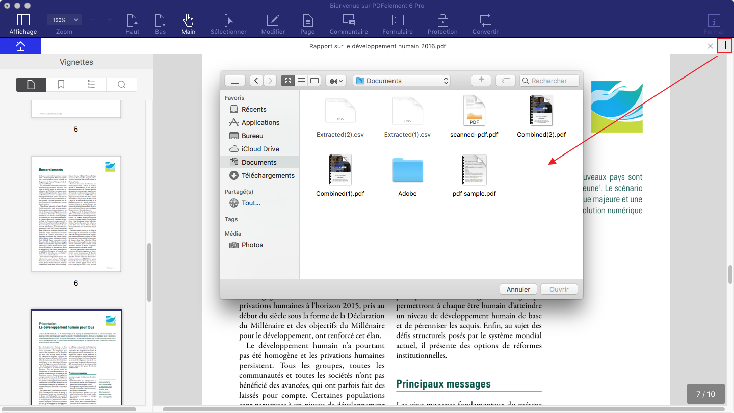 comment modifier document pdf mac