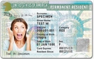 can resident alien get citizenship with travel document