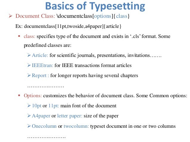 how to write a latex document