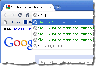 how to open a document in chrome drive