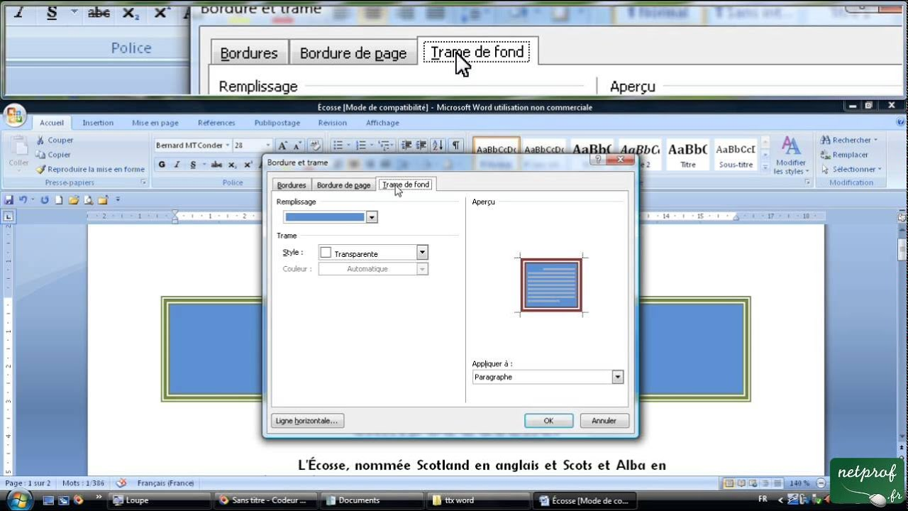 ouvrir document word sur pages