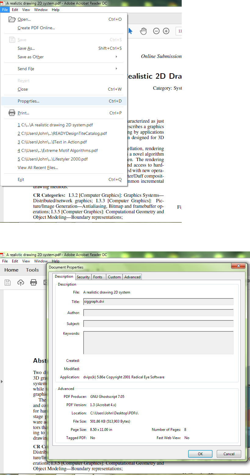 how to open a pdf document