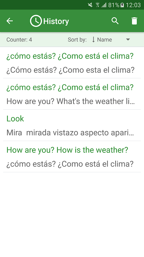 google translate document from spanish to english