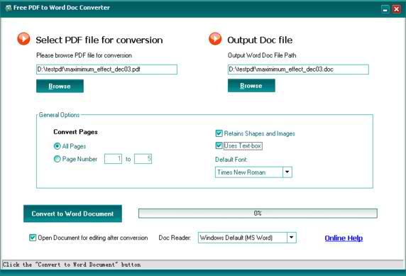 pdf to word document converter software download