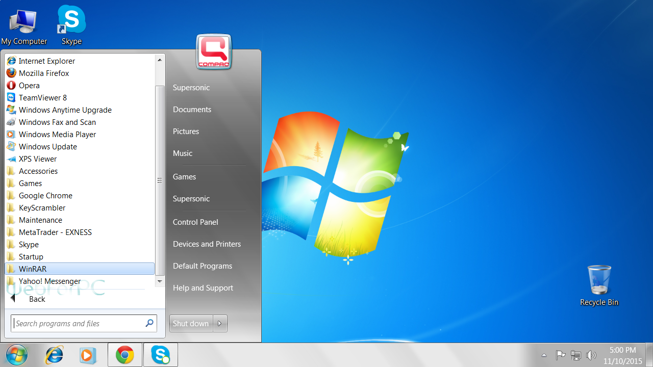 free document program for windows 7
