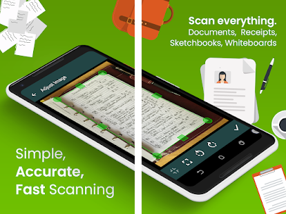 scan and write on document free download