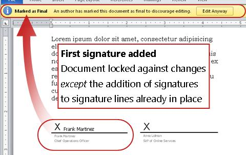 document locked by signature 2