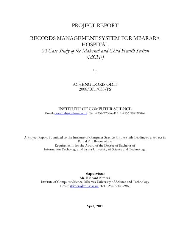 document management system project proposal