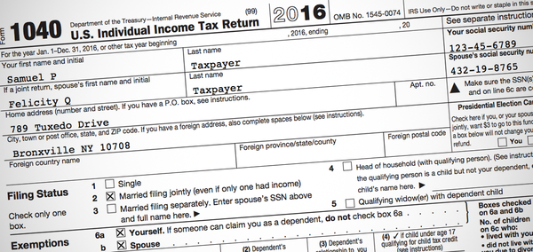 what is tax return document