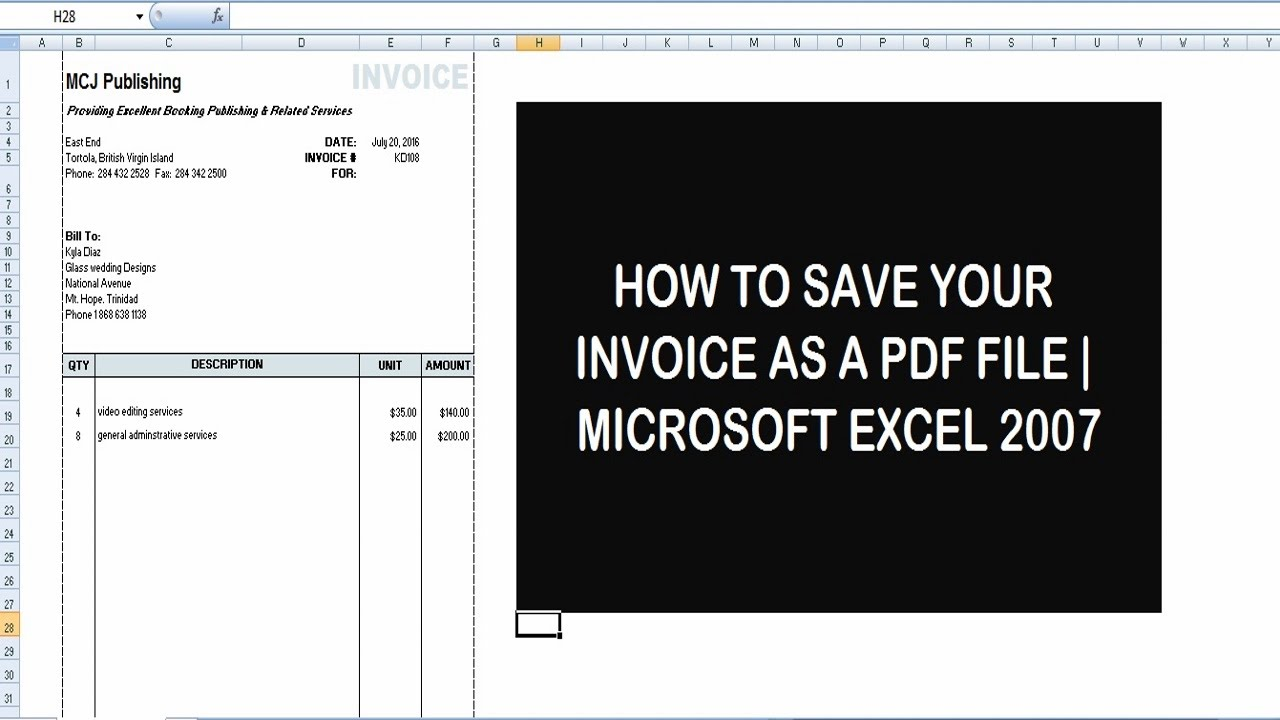 how to save a document as apdf
