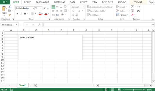 bullet points in excel document