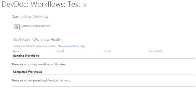 check document back in sharepoint