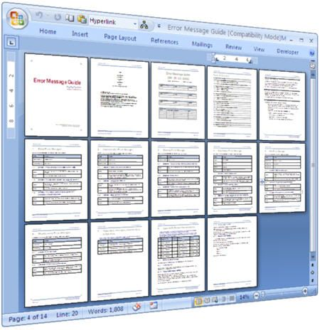 technical specification document template free