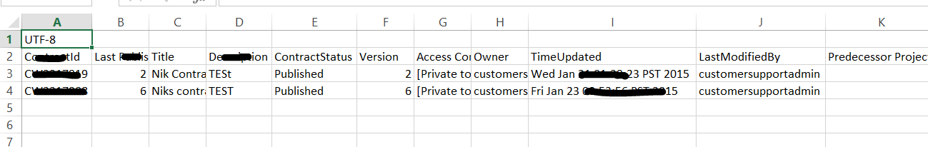 convert document to csv file