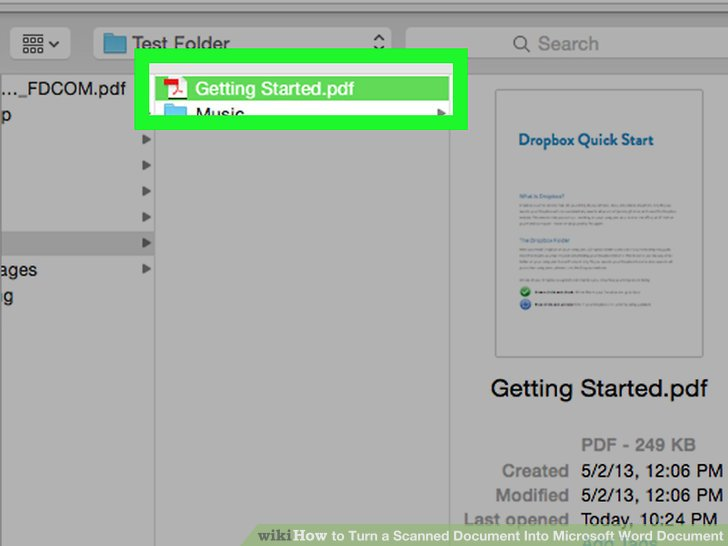 how to turn a pdf document into a word document
