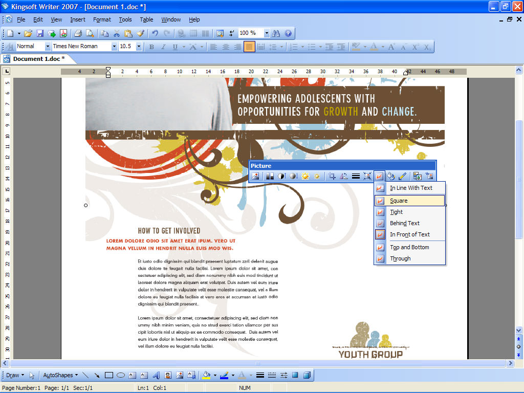 what is libre office document extension