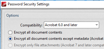 how to secure a pdf document
