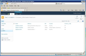 access sharepoint document library wiht script