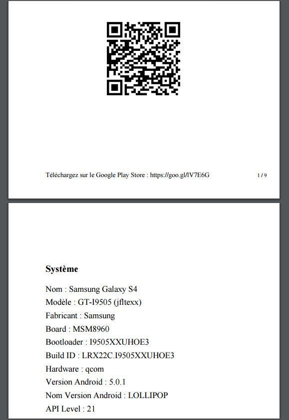android app documentation sample filetype pdf