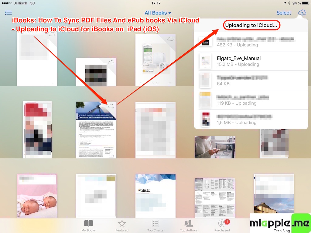 how to save document to ibooks