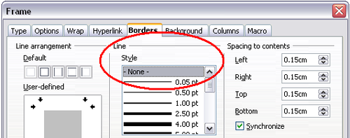 how to remove unrecovered document from openoffice