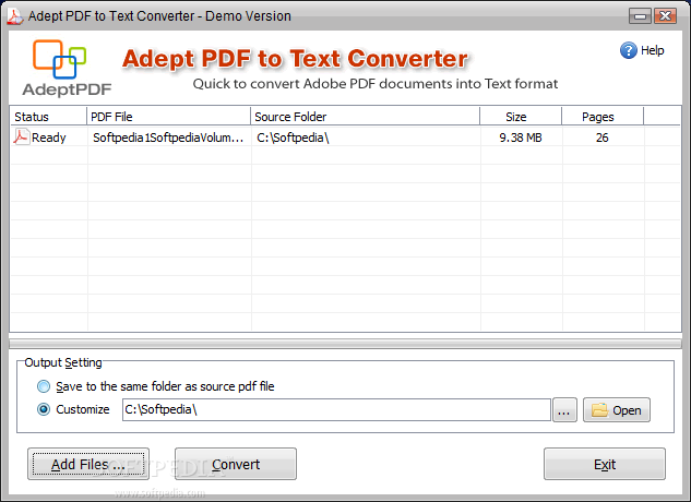convert open document text to pdf online free