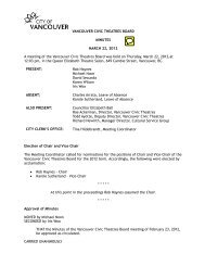 document for pulling permit for city of vancouver
