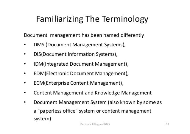 document management system with electronic forms