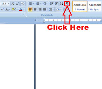 how to delete a blank word document page