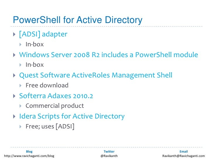 active directory documentation powershell
