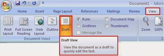 how to remove section break in word document
