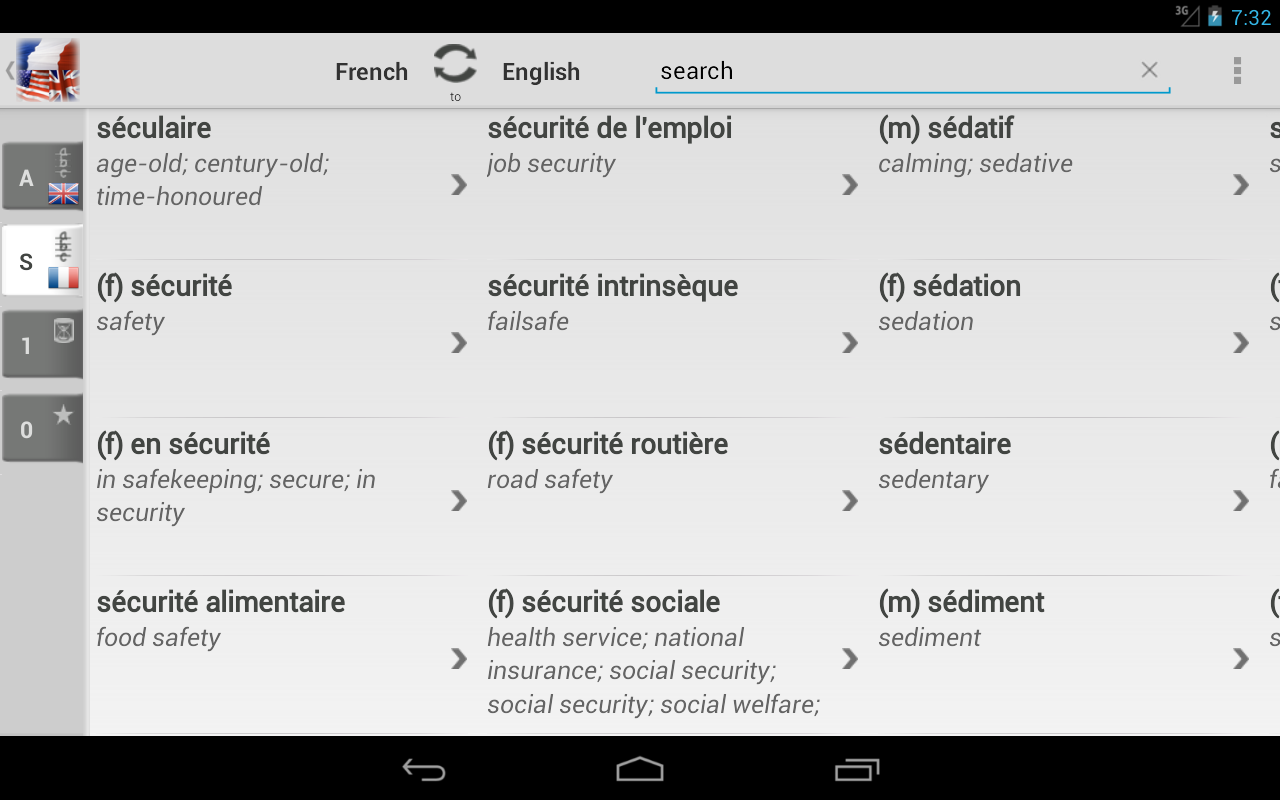 google translate document from english to french