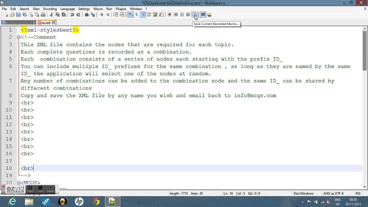 how to add a document to html