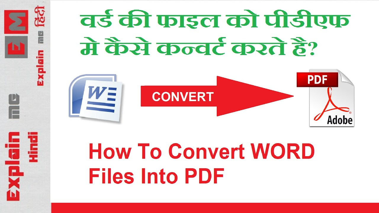how to convert pdf file to word document without software