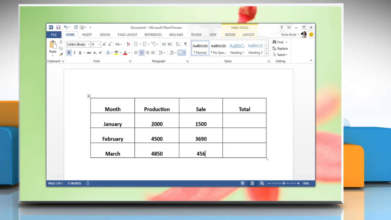how to make a word document
